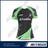 Custom sublimation polyester rugby uniforms