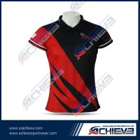 Custom made breathable rugby wear