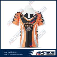 2013 new design sublimation rugby jersey