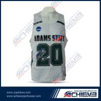 2013  sublimation custom basketball jersey