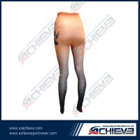 Custom print pantyhose cheap women polyester leggings tights pants