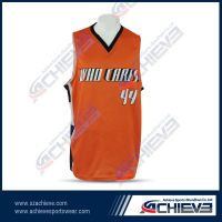 cheap sublimation basketball jersey