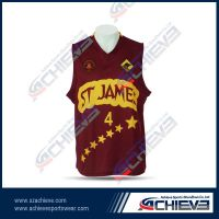 Wholesale Custom 100% Polyester Sublimation Basketball Jersey