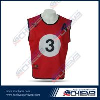 Custom sublimation fashion team vests