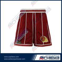 Full sublimation polyester basketball shorts wholesale