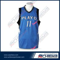 Professional Custom sublimation basketball jersey