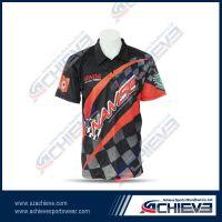 High quality sublimation polo shirts