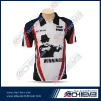 Hot sale sublimation polo shirts for man