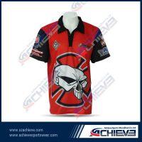 2013 new design sublimation polo shirt