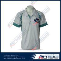 Custom wholesale sublimation polo shirt