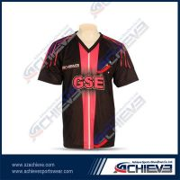 Digital printing high quality soccer jerseys with your own design