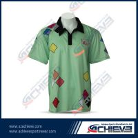 2013 Newest sublimation polo shirts for all color