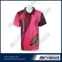 Sublimation customized fashion polo shirt wear