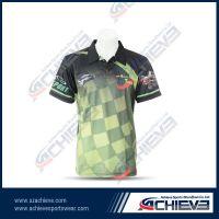 Custom Made Full Printed Sublimation Polo Shirts Sportswear