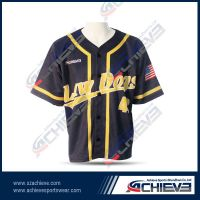 2013 New sublimation polyester baseball shirts