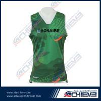 Digital Sublimation Printing Sports vest in 2014