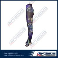 100% Polyester made Strechy Sport Tights