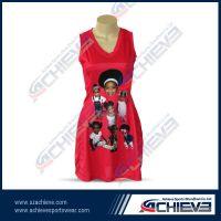 Professional custom sublimated netball dress