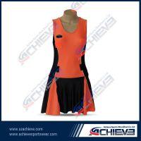 Custom sublimation professional netball dress
