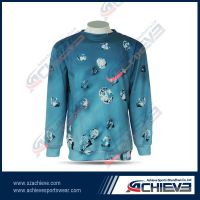 Warm Sublimation Sweater long sleeves V-neck