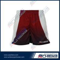 HOT!Digital high quality custom sublimation rugby shorts