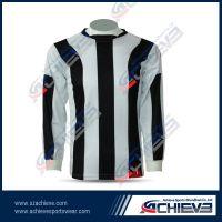 Custom made long sleeve soccer uniform