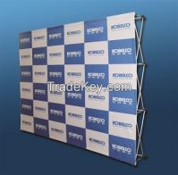 2300mm*2300mm/velcro pop up banner stand