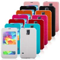 New Arrival pu covers cases in Stock with Cheap Price,for samsung galaxy s5 phone case