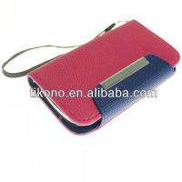 Hot selling leather case for sumsung galaxy s3 mini i8190