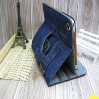 Cool jeans style stand case for apple ipad mini