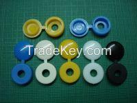 Plastic screw cap cover