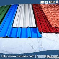 USA style Corrugated color