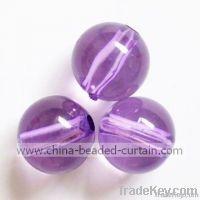 acrylic round beads, fashion beads, plastic beads