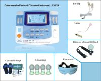electric tens massager with ultrasound beauty and laser therapy