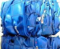 HDPE Milk Bottle Scrap/ HDPE Blue Drum Scrap/ PET Bottles Scrap/ PVC Window Scrap