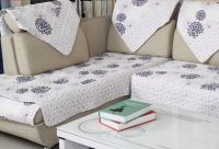Compact cotton quiting cushion for sofa