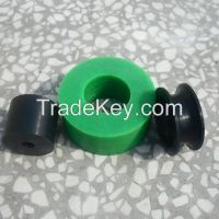 Custom Plastic U V Groove pulley wheels/machined Big Size Pulley wheel