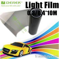 China Factory price transmittance matt black headlights for car led