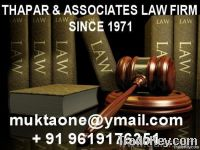 Notary lawyer advocate Thapar & Associates Law Firm