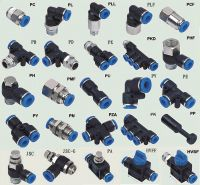 Pneumatic Fitting, Male Connector, Push to Connector, Push in Fittiing