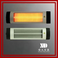 Waterproof outdoor electric infrared quartz heater CE