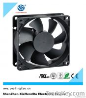 80*80*25mm dc fan