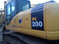 Used Excavator Komatsu PC-200