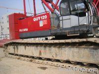 Used Crawler Cranes FW. CHINAQUY120