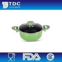 Nonstick aluminum pot with LFGB FDA approval
