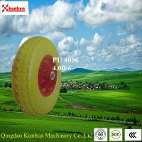 Hot sale tyre used for wheel barrow 4.00-6 Flat Free Tire