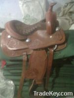 Western pony Saddle(Leather)
