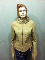 Ladies Leather Fashion Jacket
