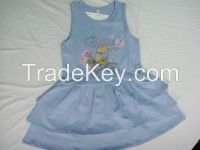 Girls Fashionable Dress/Overall