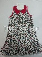 Girls Fashionable Dress/Overall